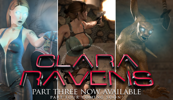 Clara Ravens Episode 3, Part 2 – Now Available