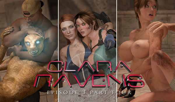 Clara Ravens Episode 3 Part 4 - Release Date June 25th, 2012