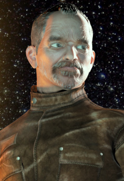 Commander Samuel Talbish - Promo Render 1