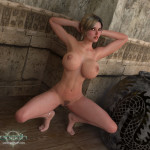 Clara Ravens - Sexy Squat