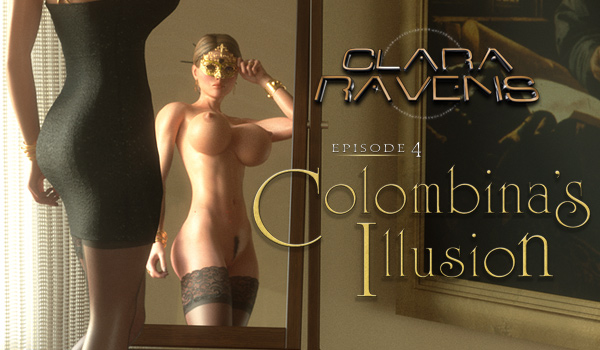 "Clara Ravens Ep. 4 ""Colombina's Illusion"" - Promo Art"