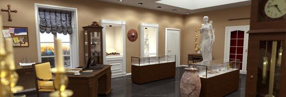 Hugo Von Eschen's Trophy Room