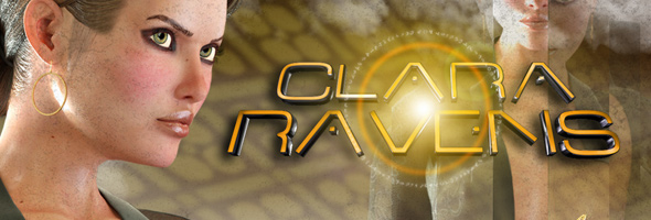 Cover Art - Clara Ravens Ep. 4: Colombina's Illusion