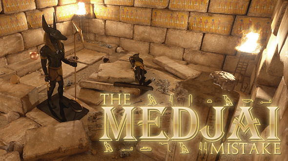 The Medjai Mistake - Set Concept 02