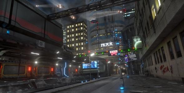 Dossier 009: Into Ruin - Cityscape