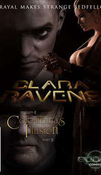 Clara Ravens Episode 4: Colombina's Illusion - Part II Cover Art