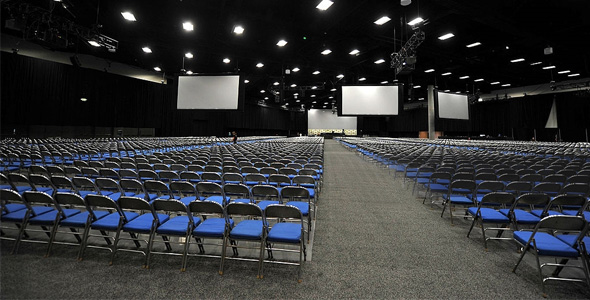 San Diego Convention Center - The Infamous Hall H